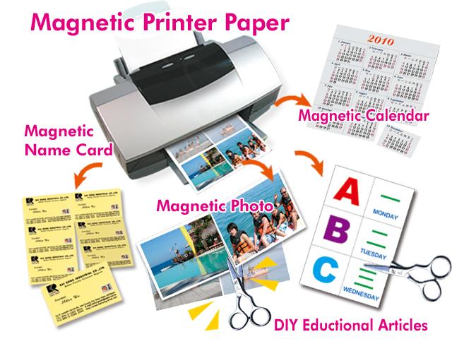 inkjet magnetic printer paper for fu rong magnets industrial co ltd